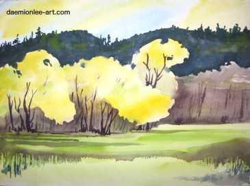 Spring Along the Mckenzie River